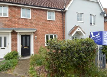 Thumbnail 3 bed terraced house to rent in Beckside, Horsford, Norwich