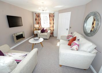 "Thumbnail 3 bed semi-detached house for sale in ""The Hanchurch"" at Chaffinch Manor, Broughton, Preston"