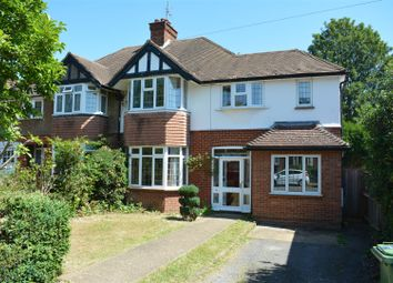 Thumbnail 4 bed semi-detached house for sale in Digdens Rise, Epsom