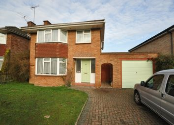 Thumbnail 3 bed detached house to rent in Wingate Road, Woodley, Reading
