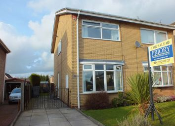 Thumbnail 2 bed semi-detached house to rent in Libra Place, Packmoor, Stoke-On-Trent