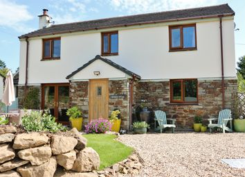 Thumbnail 4 bed detached house for sale in Talskiddy, St Columb