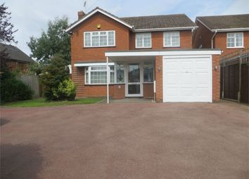 Thumbnail 4 bed detached house to rent in Mill Lane, Bentley Heath, Solihull