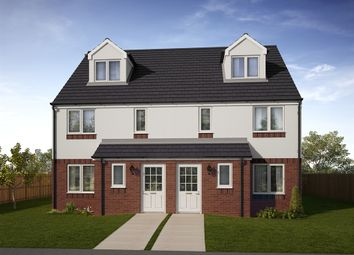 "Thumbnail 4 bed town house for sale in ""The Bothwell "" at Lochview Terrace, Gartcosh, Glasgow"