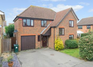 Thumbnail 4 bed detached house for sale in Warren View, Orchard Heights, Ashford