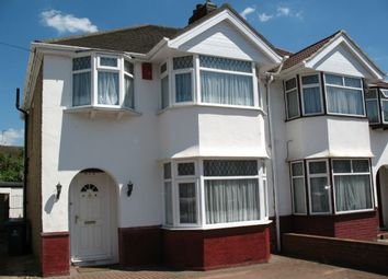 Thumbnail 4 bed semi-detached house to rent in Portland Crescent, Stanmore, Middlesex