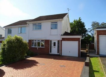 Thumbnail 3 bed semi-detached house for sale in 34 Nant Y Bryn, Dafen, Llanelli, Carmarthenshire