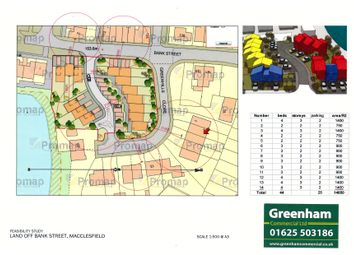 Thumbnail Land for sale in Bank Street, Macclesfield