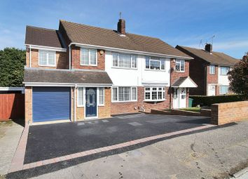 Thumbnail 4 bed semi-detached house for sale in The Croft, Gossops Green, Crawley, West Sussex