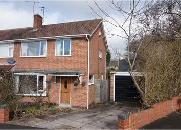 Thumbnail 3 bed semi-detached house for sale in High Leys Drive, Leicester