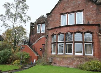 Thumbnail 2 bed flat for sale in Mansewood Drive, Dumbarton