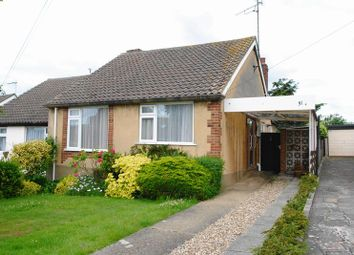 Thumbnail 2 bed semi-detached bungalow for sale in Springwater Grove, Eastwood, Leigh-On-Sea
