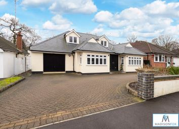 Thumbnail 4 bed detached house for sale in Bracken Drive, Chigwell