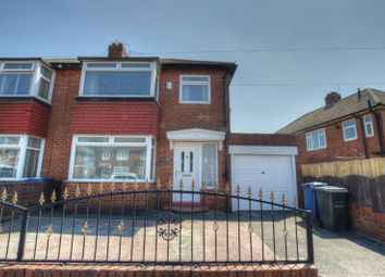 Thumbnail 3 bed semi-detached house for sale in Silver Lonnen, Newcastle Upon Tyne