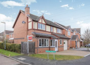 Thumbnail 4 bed detached house for sale in Penkside, Coven, Wolverhampton