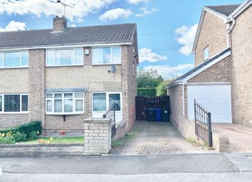 Thumbnail 3 bedroom semi-detached house to rent in Lund Crescent, Barnsley