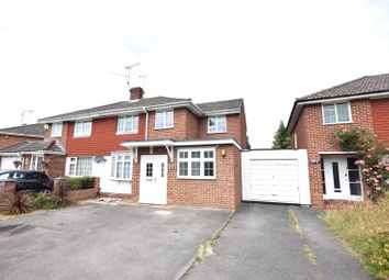 Thumbnail 4 bed semi-detached house to rent in Antrim Road, Woodley, Reading, Berkshire