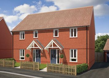 """Thumbnail 3 bed semi-detached house for sale in """"The Charkley"""" at Saunders Way, Basingstoke"""