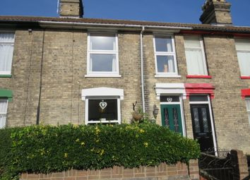 Thumbnail 3 bed terraced house for sale in Cemetery Road, Ipswich