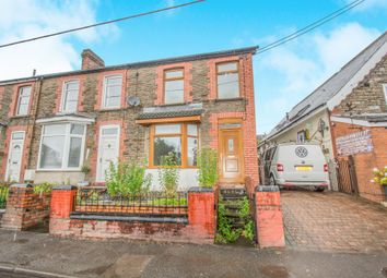Thumbnail 3 bed end terrace house for sale in Garth View, Church Village, Pontypridd