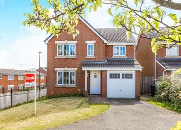 Thumbnail 4 bed detached house for sale in Siskin Close, Oldbury