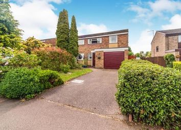 Thumbnail 3 bed semi-detached house for sale in Lincroft, Oakley, Bedford, Bedfordshire