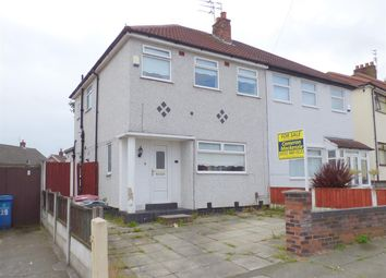Thumbnail 3 bed semi-detached house for sale in Coronation Drive, Broadgreen, Liverpool