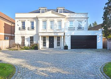 Thumbnail 6 bed detached house for sale in Sandown Road, Esher