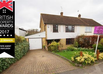 Thumbnail 3 bed semi-detached house for sale in Love Lane, Quick Move Possible, Rayleigh, Essex