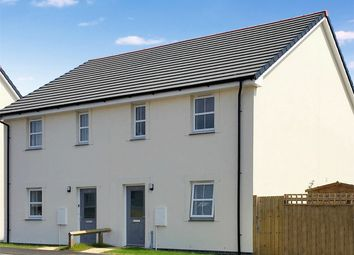 Thumbnail 3 bedroom semi-detached house for sale in Trecarrack Road, Pengegon, Camborne