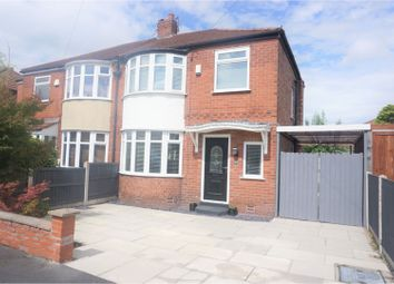 Thumbnail 3 bed semi-detached house for sale in Cranleigh Drive, Cheadle