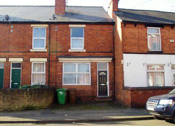 Thumbnail 1 bed terraced house to rent in Leonard Street, Bulwell, Nottingham