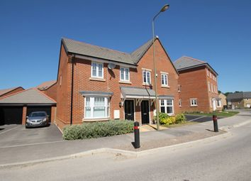 Thumbnail 3 bed semi-detached house to rent in Blackthorn Road, Didcot