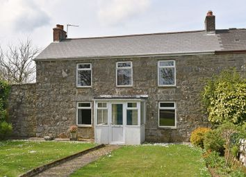 Thumbnail 4 bed semi-detached house for sale in Trescowe, Germoe, Penzance