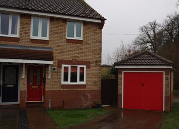 Thumbnail 2 bed semi-detached house to rent in Grenville Close, Hethersett