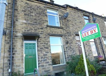 Thumbnail 3 bedroom terraced house for sale in Lindley Street, Milnsbridge, Huddersfield