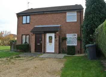 Thumbnail 1 bed semi-detached house for sale in Squires Gate, Gunthorpe, Peterborough