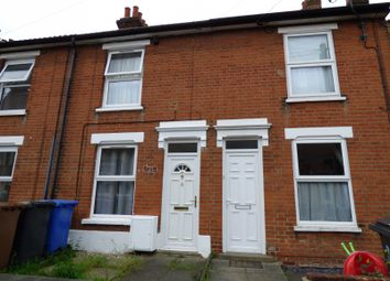 Thumbnail 3 bed terraced house to rent in Clifford Road, Ipswich