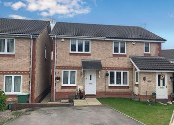 Thumbnail 2 bed semi-detached house for sale in Clos Cwm Garw, Caerphilly