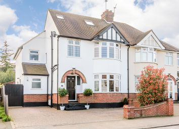 Thumbnail 4 bed semi-detached house for sale in Gloucester Avenue, Chelmsford, Essex