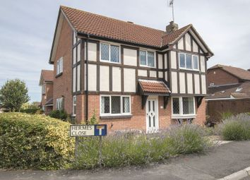 Thumbnail 4 bed detached house for sale in Hermes Close, Saltford, Bristol
