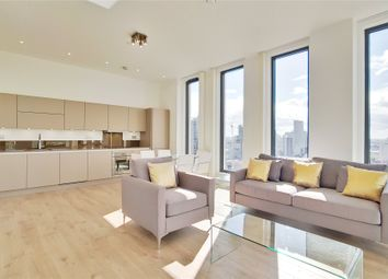 Thumbnail 3 bed flat to rent in Legacy Tower, Station Street, London
