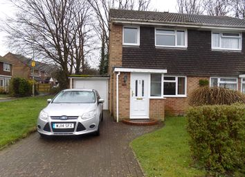 Thumbnail 3 bed semi-detached house for sale in Cambria Drive, Dibden