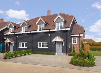 Thumbnail 4 bed semi-detached house for sale in The Serpentine At The Ridings, Aldenham, Watford, Hertfordshire