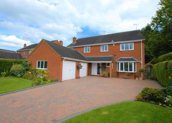 Thumbnail 5 bed detached house for sale in Manor Lane Leigh, Stoke-On-Trent