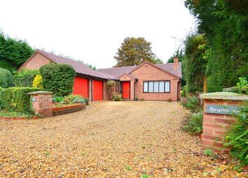 Thumbnail 4 bed detached bungalow for sale in The Grove, Hartford, Huntingdon, Cambridgeshire