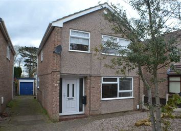 Thumbnail 4 bedroom detached house for sale in Lea Close, Noctorum, Prenton