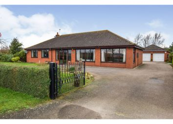Thumbnail 4 bed detached bungalow for sale in Mill Road, Hibaldstow