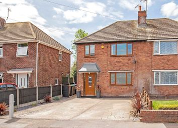 3 bed semi-detached house for sale in Manor Crescent, Kirkby-In-Ashfield, Nottingham, Nottinghamshire NG17