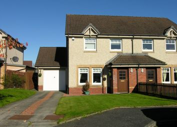 Thumbnail 3 bed semi-detached house for sale in Bell View, Wishaw